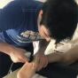 La récupération de la blessure avec Human Tecar® de Renaud la Villenie : 15 jours plus tard, il marche. 24 jours plus tard il reprend l'entrainement !