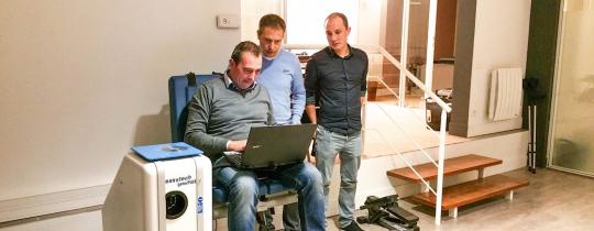 Interview d'Olivier HENNEUSE, MK du sport : Création d'un cabinet début 2017 à Villeneuve d'Ascq